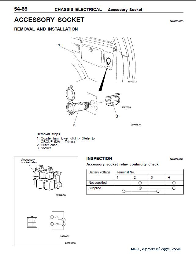 Mitsubishi Montero Sport Engine Manual