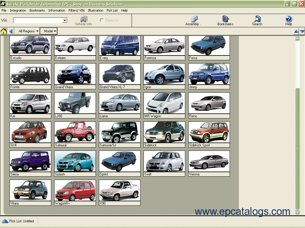 Enlarge spare parts catalog suzuki worldwide automotive epc 2012 2 enlarge