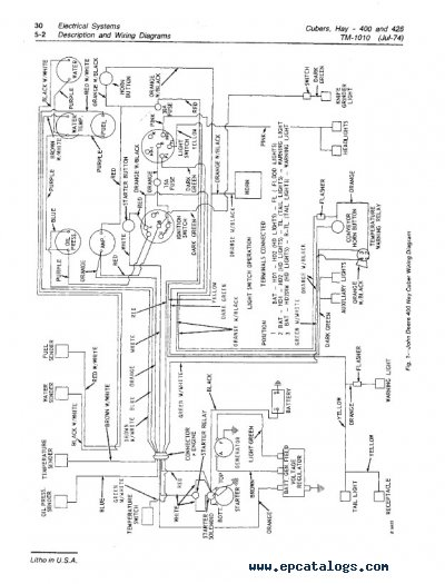 Wiring Diagram For John Deere 1010