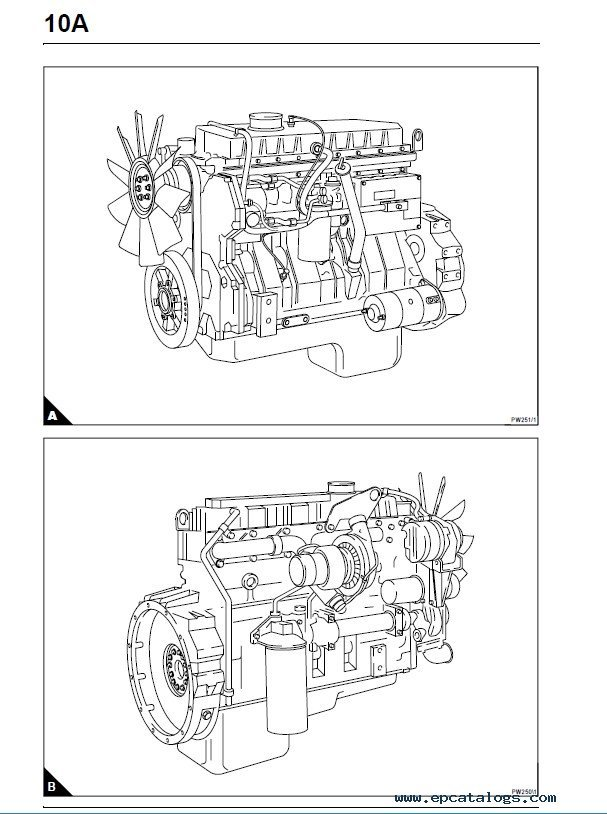 Perkins 1300 Series Wiring Diagram