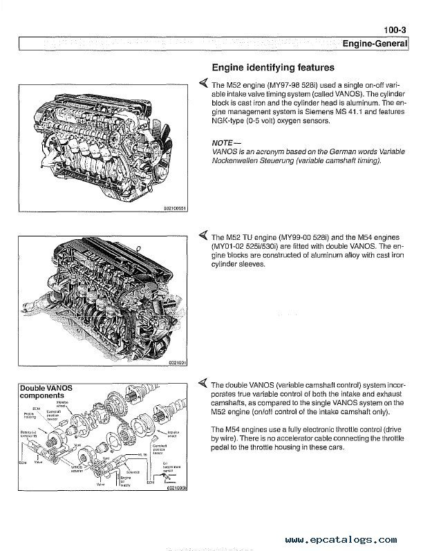 BMW 5 Series (E39) Service Manual PDF | 98 Bmw 528i Engine Schematics |  | EPCATALOGS