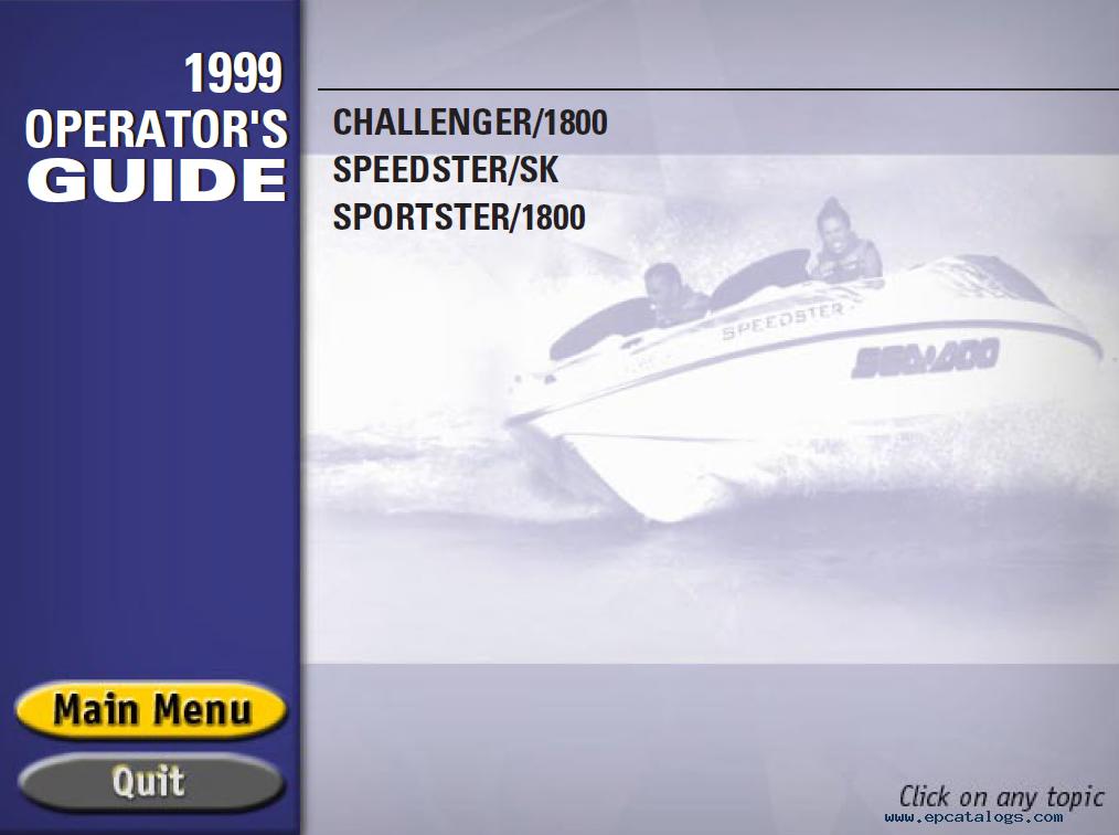 1999 sea doo challenger 1800 wiring diagram 1999 sea doo Sea-Doo Boat MSRP Sea-Doo Challenger 210