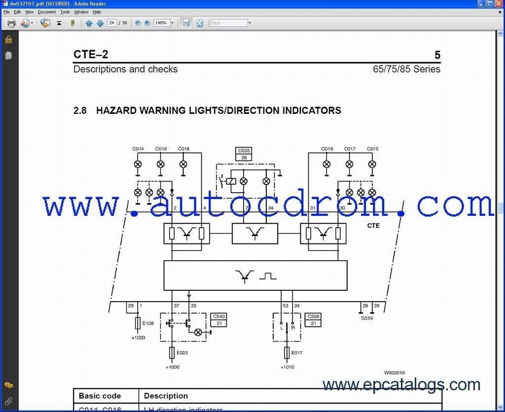 DAFSystemManuals daf xf 95 wiring diagram pdf efcaviation com daf xf 95 wiring diagram at webbmarketing.co