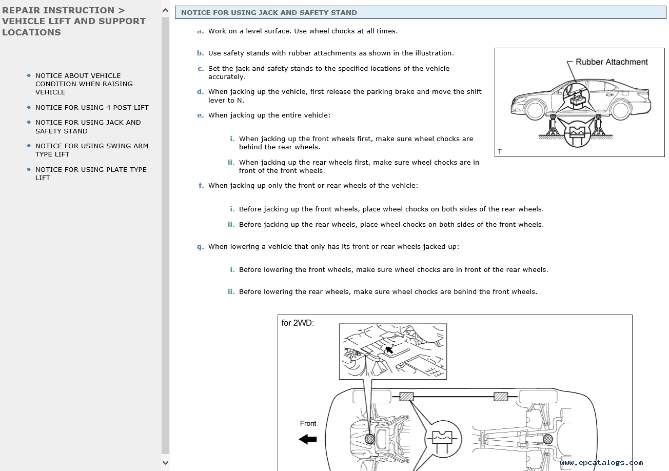Lexus Ls460 Repair Manual 09 2006