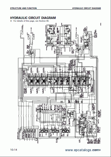 komatsu hydraulic excavator pc450 7k pc450lc 7k repair. Black Bedroom Furniture Sets. Home Design Ideas