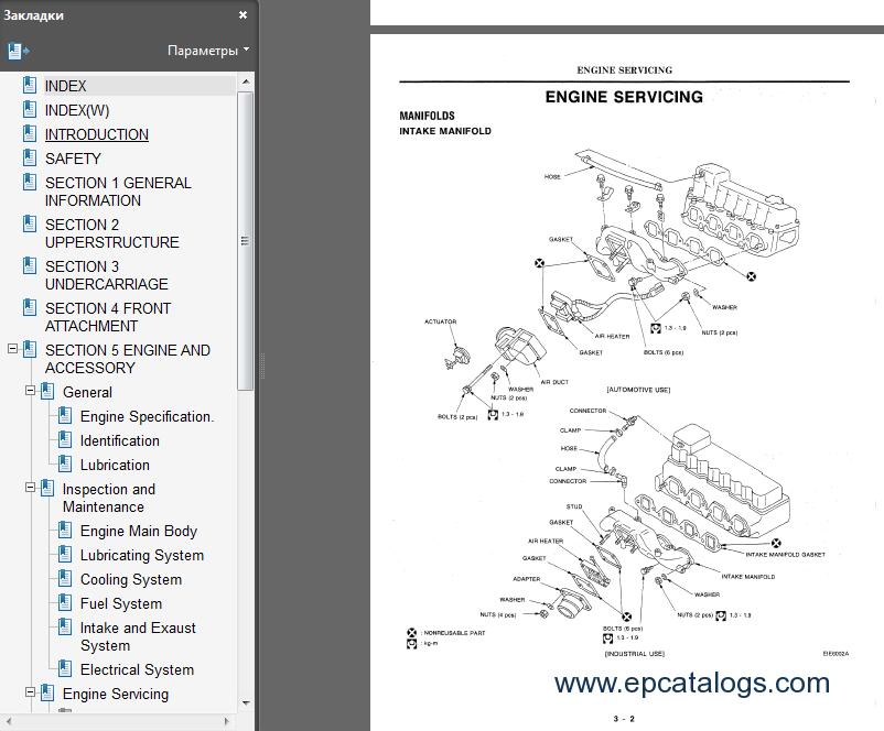 Hitachi hydraulic excavators workshop service manual download enlarge cheapraybanclubmaster Choice Image