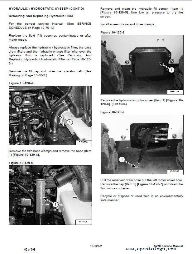 Bobcat loader Service manual