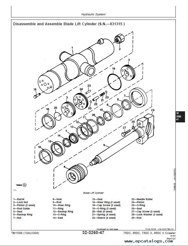 John Deere 750c Dozer Engine Diagram