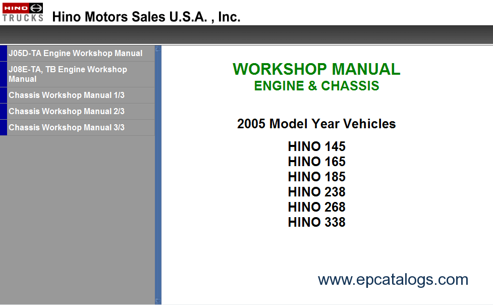 Hino workshop manual 2008 hino 268 repair manual 28 images hino workshop manual 500 Kenworth Wiring Schematics Wiring Diagrams at gsmx.co