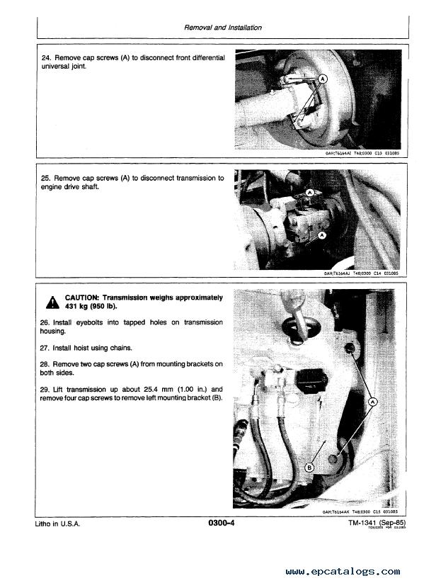John Deere 544d Manual
