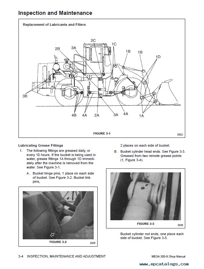 Daewoo Wheel Loader Mega 300-III Shop Manual PDF on