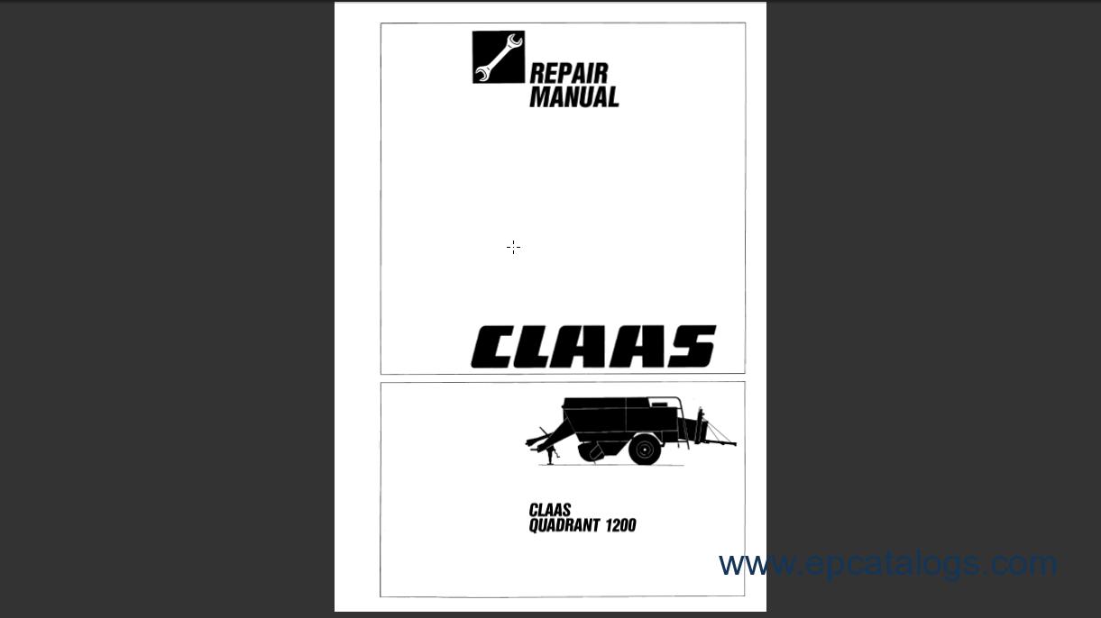 claas quadrant 1200 repair manual download rh epcatalogs com claas lexion workshop manual claas arion workshop manual
