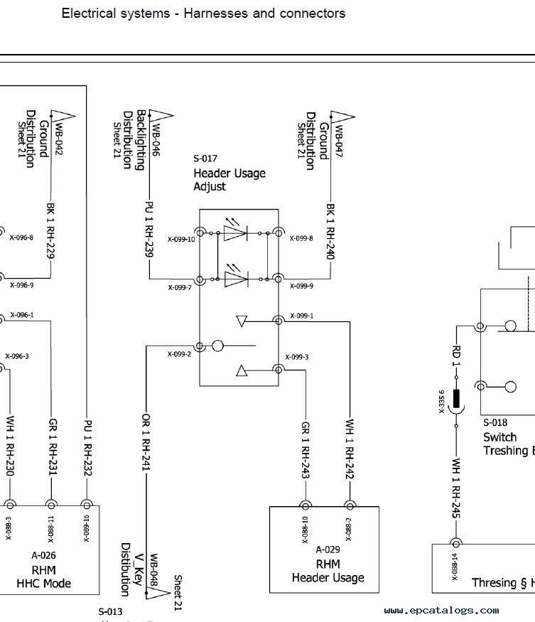 New Holland Combine CX5080/CX5090/CX6080/CX6090 PDF Manual on