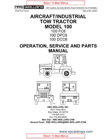 nmc wollard aircraft tractor m100 parts and service manual download rh epcatalogs com Schematic Diagram Wiring Diagram Symbols