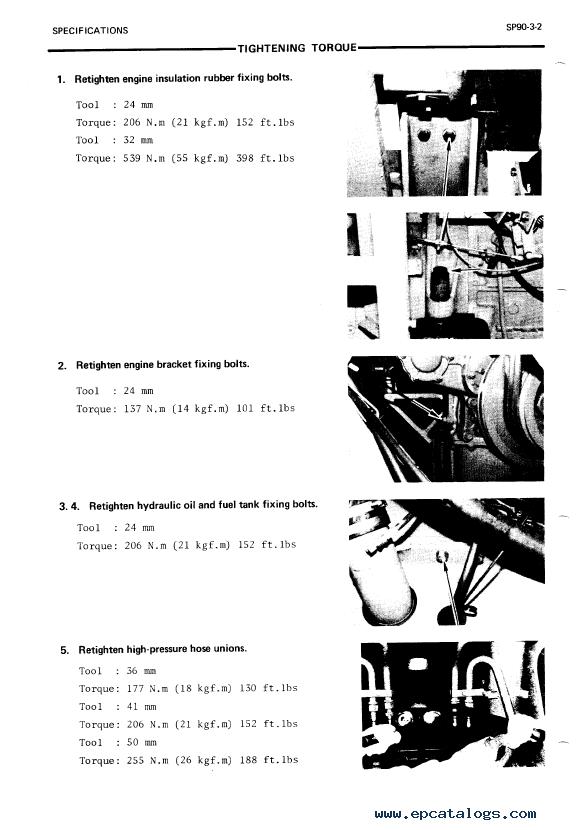 hitachi ex400 excavator service manual pdf