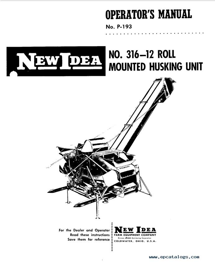 new idea 5409 manual