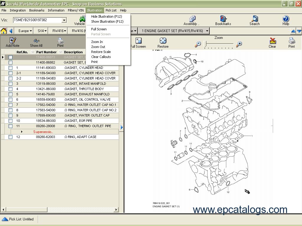 Enlarge spare parts catalog suzuki worldwide automotive epc 2012 6 enlarge our company provides for sale original