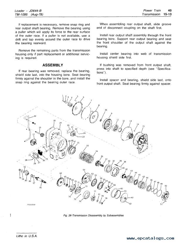 John Deere 644b Wiring Harness Diagram - Wiring Diagram Shw on