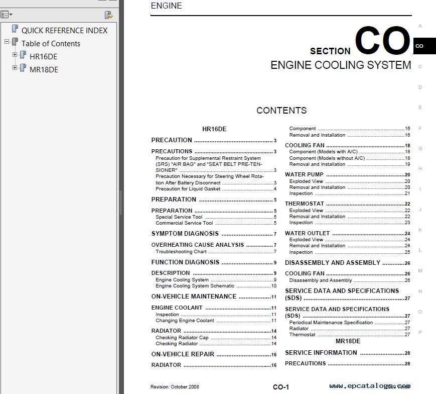 2013 nissan versa repair manual pdf