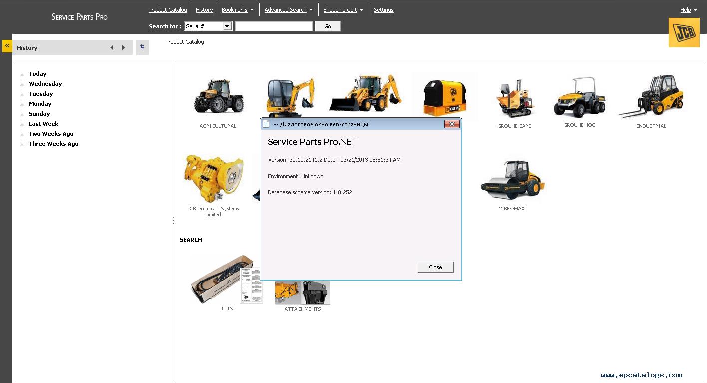 repair manual JCB SPP 2013 Parts Catalog + Service Repair Manuals - 10