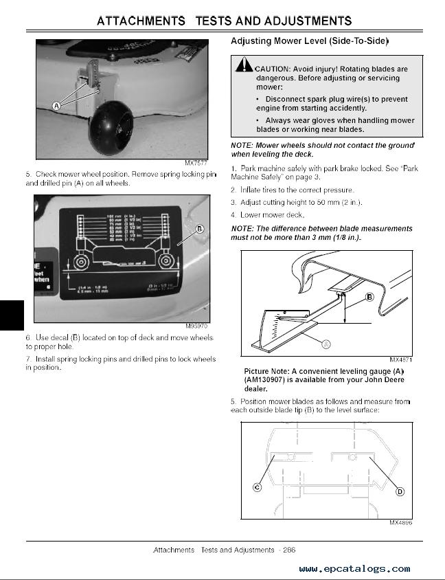 john deere sst15 sst16 sst18 lawn tractor tm1908 pdf rh epcatalogs com John Deere SST16 Problems John Deere SST16 Steering Actuator
