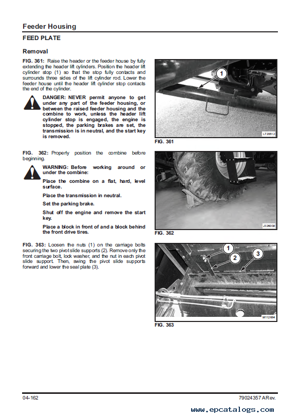 challenger 680b combine service manual pdf rh epcatalogs com Bobcat Parts 463 Bobcat Repair Manual PDF