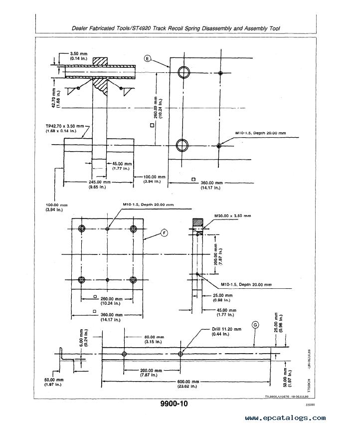 john deere 70 excavator repair operation tests tm1376 pdf rh epcatalogs com