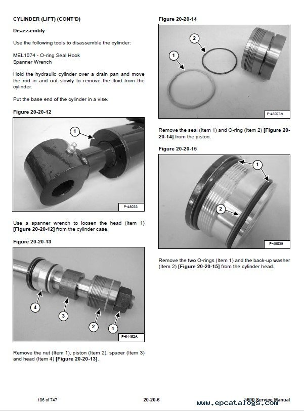 Bobcat 5600 Toolcat Utility Work Machine Service Manual Pdf