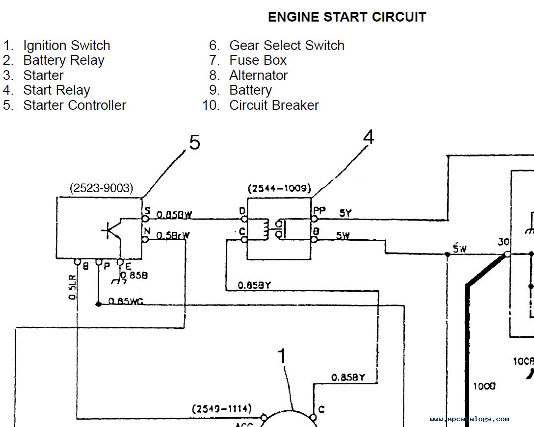 on daewoo generator wiring diagram