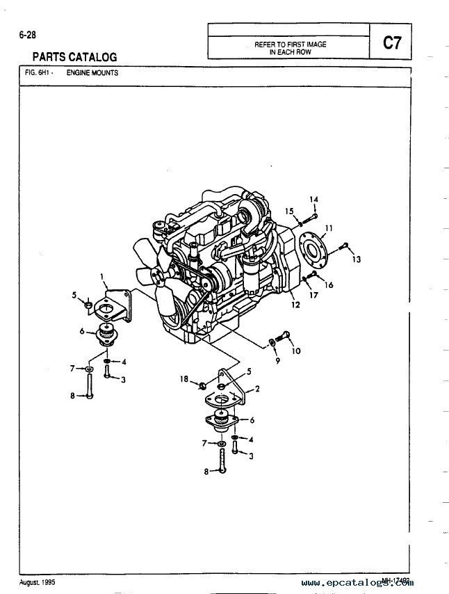 Allis Chalmers D17 Parts Diagram : Fiat allis wiring diagram get free image about