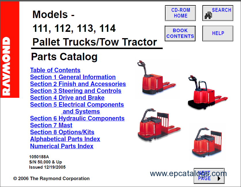 raymond forklift spare parts catalog forklift trucks manuals enlarge