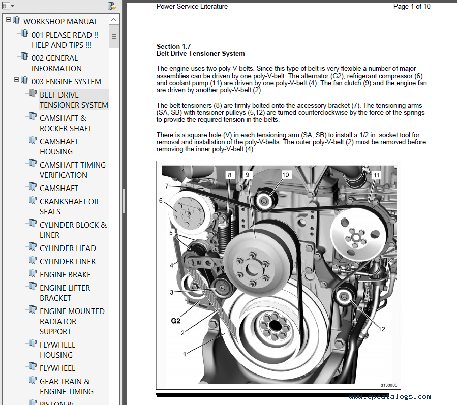Detroit Diesel Engine DD15 Power Service Literature PDF
