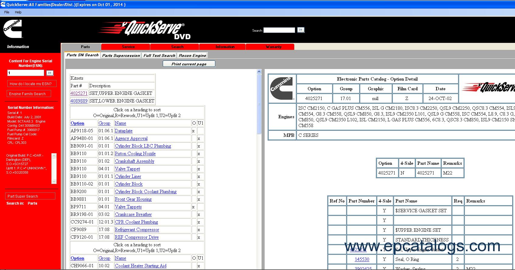 cummins quickserve offline all engines families 10 2014 repair enlarge