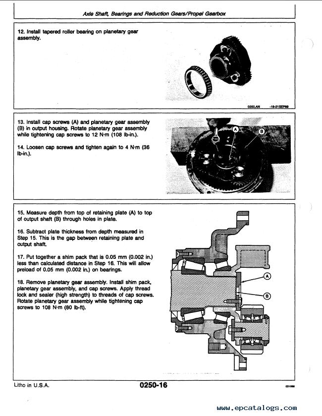 Heavy Equipment Parts & Accessories Heavy Equipment Manuals ...