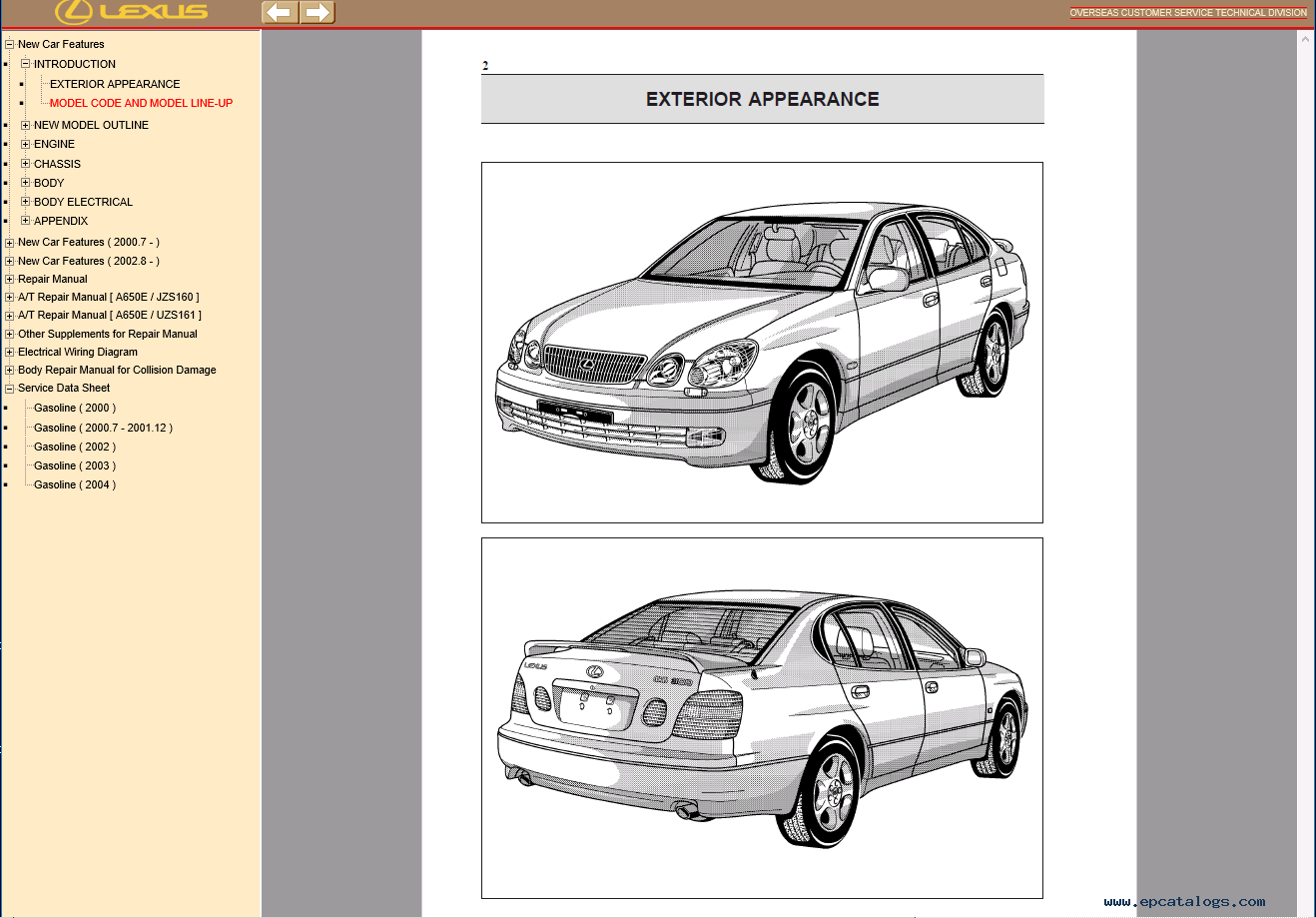 Lexus Gs430  300 Repair Manual Of Pdf Download
