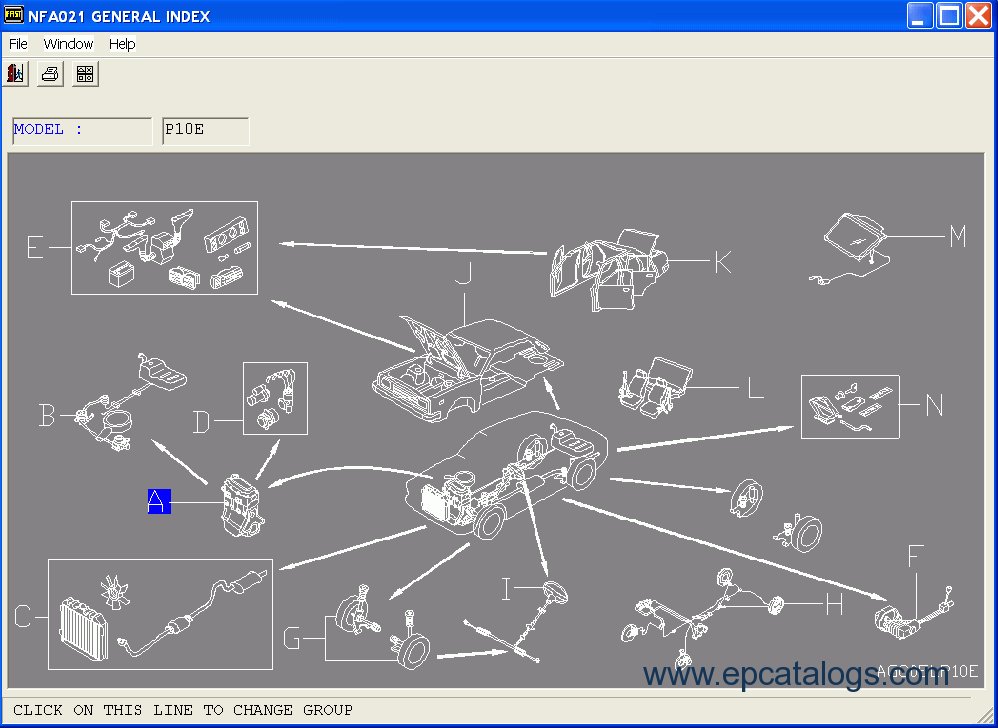 Nissan/Infinity EPC LHD FULL 2014 Spare Parts Catalog Download