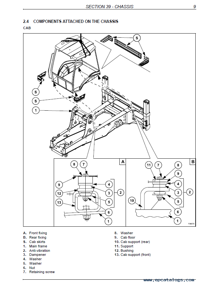 Case 580 E Forklift Repair Manual