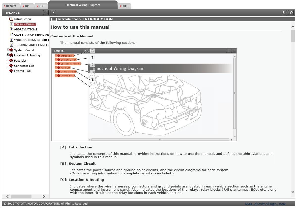 Toyota 4runner Cars Repair Manual  U0026 Html Wiring Diagram