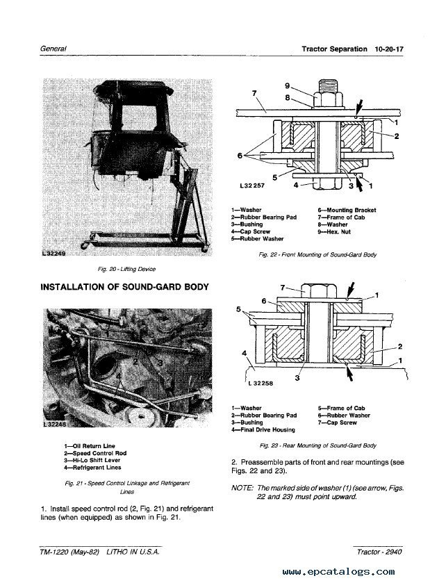 john deere 2940 tractor tm1220 technical manual pdf John Deere L110 Wiring-Diagram