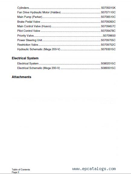Doosan M200 Wheel Loader Shop Manual PDF