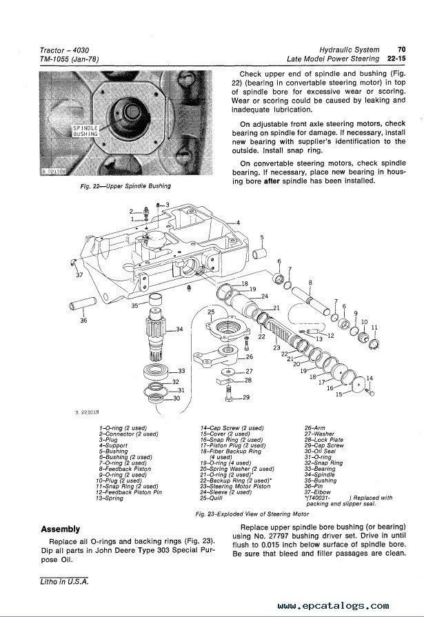 John Deere 4030 Tractor TM1055 Technical Manual PDFEPCATALOGS