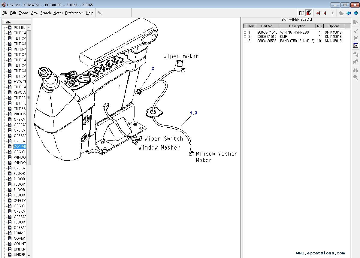 Komatsu Europe Japan Parts Catalog Spare Download D31p Wiring Diagram 6