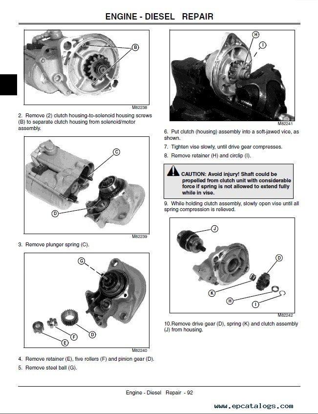 john deere compact utility tractors 4510 4610 4710 tm1986 john deere 4600 manual john deere 4610 parts manual