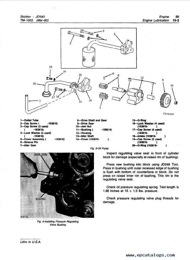 john-deere-540-540a-skidders-tm1003-technical-manual-pdf Jd Wiring Diagram on