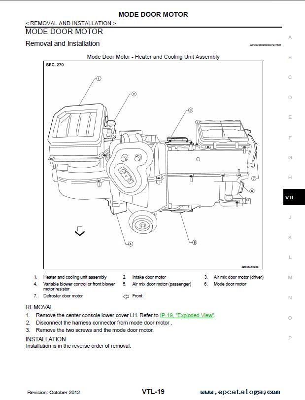 Download nissan Titan service manual
