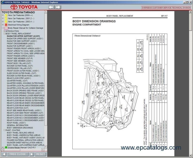 Toyota Previa  Tarago 2000