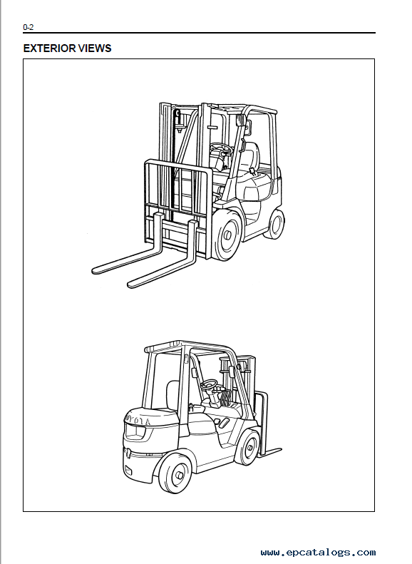 Emission Control Lamp >> Toyota 7FDF/FGF 15-35 Forklifts Service Manual PDF