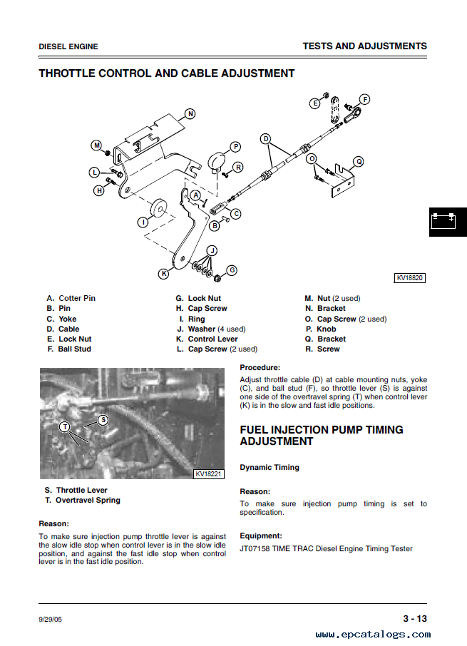 deere 260 270 skid steer loaders tm1780 technical manual pdf repair manual forklift