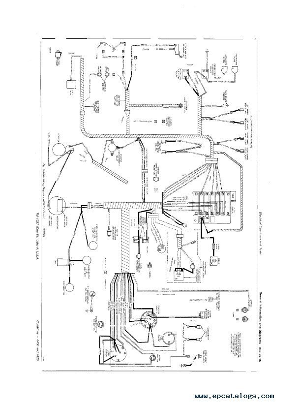 John Deere 4400  U0026 4420 Combines Tm1237 Pdf Manual