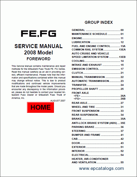 Repair Manual Mitsubishi Fuso 2009 Service 2: KIA Sportage Wiring Diagram Service Manual At Mazhai.net